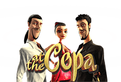 Play At the Copa bitcoin slot for free