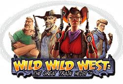 Netent Wild Wild West: The Great Train Heist logo