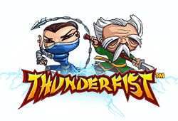 Netent Thunderfist logo