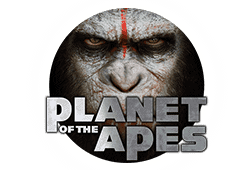 Netent Planet of the Apes logo