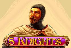 Nextgen - 5 Knights slot logo