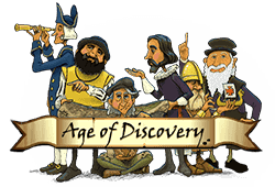 Play Age of Discovery bitcoin slot for free