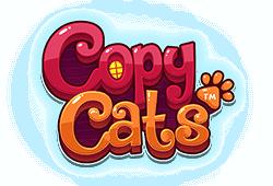 Play Copy Cats bitcoin slot for free