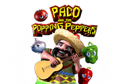 Betsoft Paco and the Popping Peppers logo