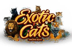 Microgaming Exotic Cats logo