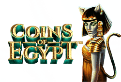 Netent Coins of Egypt logo