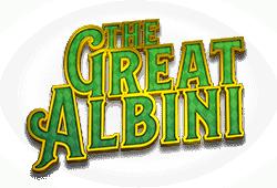 Foxium - The Great Albini slot logo