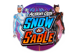 Microgaming - Action Ops: Snow and Sable slot logo