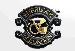 Microgaming Sherlock of London logo