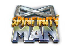 Betsoft Spinfinity Man logo