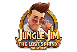 Microgaming Jungle Jim and the Lost Sphinx logo