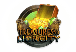 Microgaming Treasures of Lion City logo