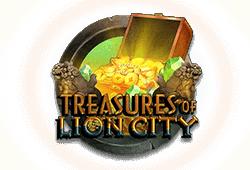 Microgaming Treasures of Lion City logo