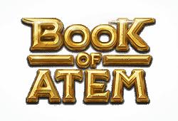 Microgaming Play Book of Atem bitcoin slot logo