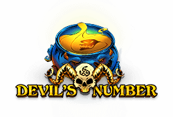 Red tiger gaming Devil's Number logo