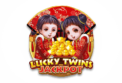 Microgaming Lucky Twins Jackpot logo