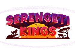 Netent - Serengeti Kings slot logo