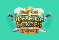 rabcat - Treasure Heroes slot logo