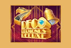 JFTW - Deco Diamonds Deluxe slot logo