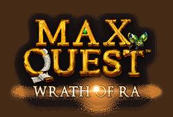 Betsoft - Max Quest: Wrath of Ra slot logo