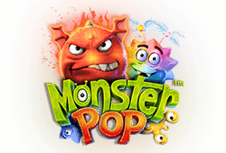 Betsoft - Monster Pop slot logo
