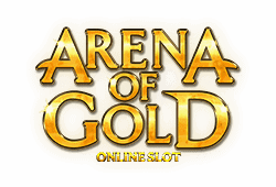 Microgaming Arena of Gold logo