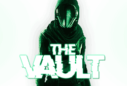 Microgaming The Vault logo