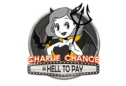 Play'n GO - Charlie Chance in Hell to Pay slot logo