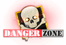 Microgaming Danger Zone logo