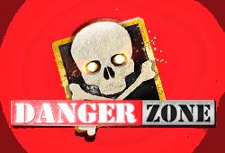 Microgaming Danger Zone logo
