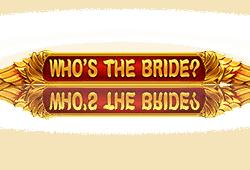 Netent - Who's the Bride? slot logo