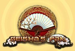 Tom Horn Gaming - Geisha's Fan slot logo