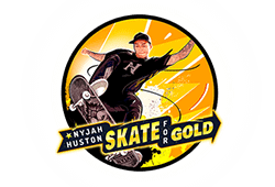 Play'n GO Nyjah Huston - Skate For Gold logo