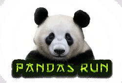Tom Horn Gaming - Pandas Run slot logo