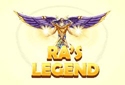 Red tiger gaming - Ra's Legend slot logo