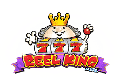 Red tiger gaming Reel King Mega logo