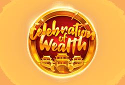 Play'n GO - Celebration of Wealth slot logo