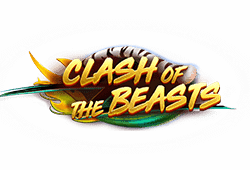 Red tiger gaming - Clash of the Beasts slot logo