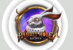 Play'n GO - Rabbit Hole Riches slot logo