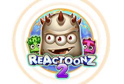Play'n GO - Reactoonz 2 slot logo