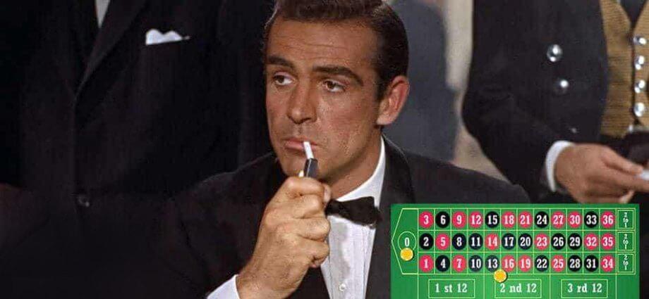 James bond Roulette system
