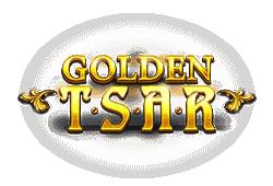 Red tiger gaming - Golden Tsar slot logo