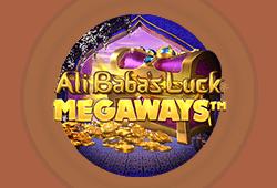 Red tiger gaming - Ali Baba's Luck Megaways slot logo