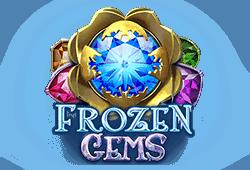 Play'n GO - Frozen Gems slot logo