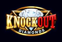 Elk Studios - Knockout Diamonds slot logo