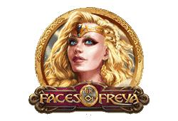 Play'n GO - The Faces of Freya slot logo